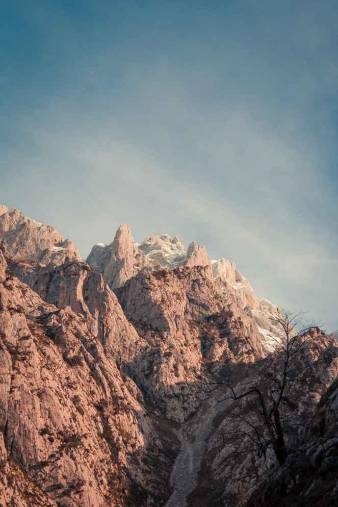 rocky mountains under blue sky